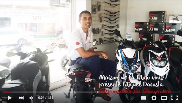 Interview Miguel - Maison de la Moto, Mauritius