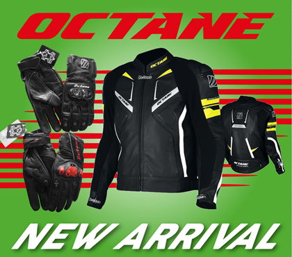 NEW ARRIVALS OF JACKETS & GLOVES