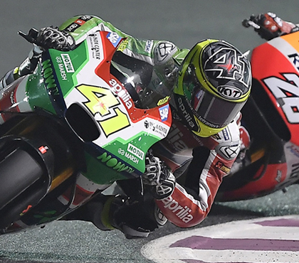 "ALEIX ESPARGARÓ IS SIXTH IN QATAR BEST RESULT FOR APRILIA SINCE RETURNING TO MOTOGP  ALBESIANO: ""WE WILL NOT SETTLE, ALEIX IS LEADING THE CHARGE AND THE RS-GP WILL CONTINUE TO GROW"""