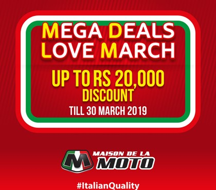 Mega Deals Love March
